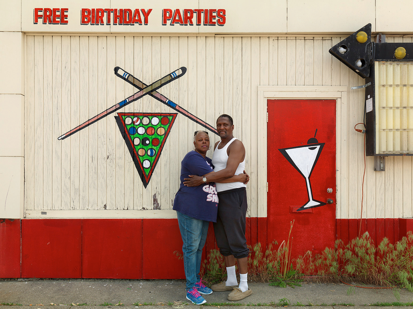 Patricia and Melvin, Eastside, Detroit 2015