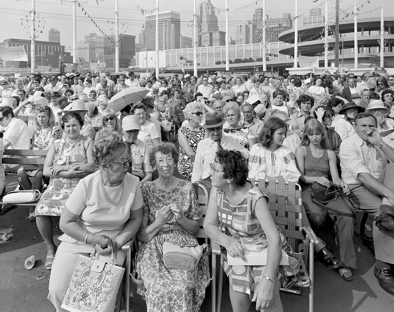 A Group of Spectators, Detroit 1973