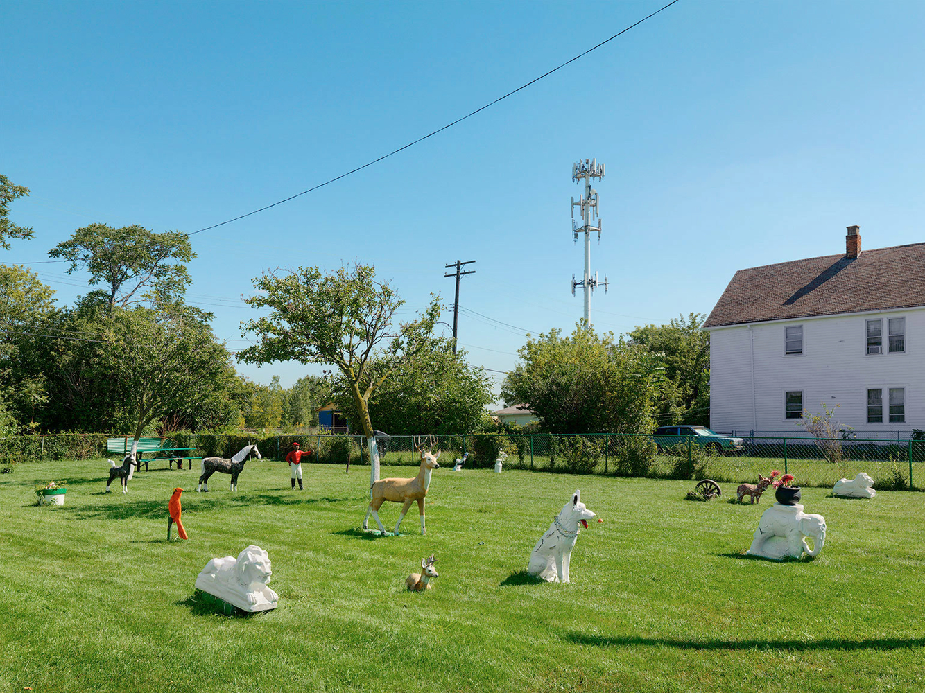 Yard with Lawn Decorations, Eastside, Detroit 2014