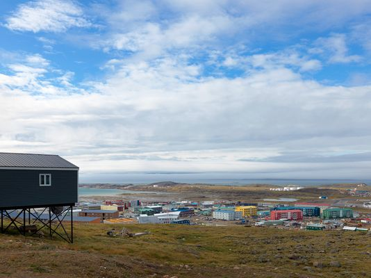 View from the Plateau, Iqaluit, Canada 2016