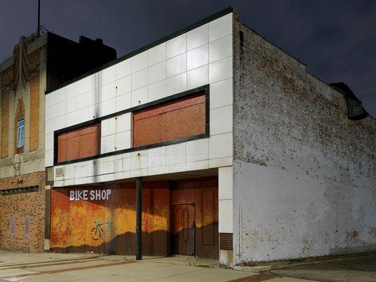 Bike Shop, Eastside, Detroit 2018