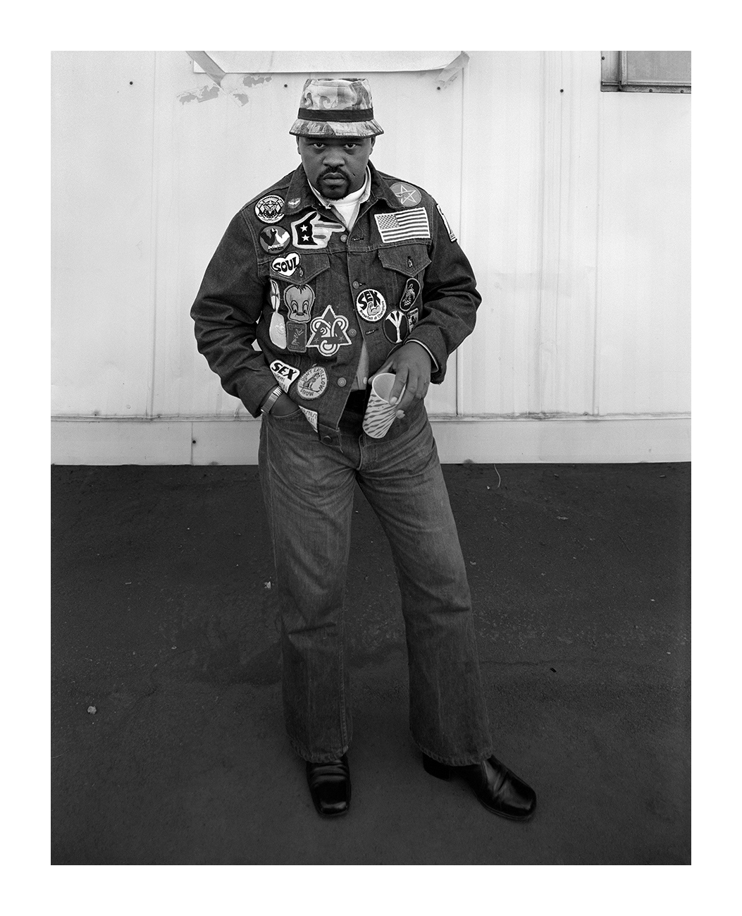 A Man with Many Patches, Detroit, 23 Sept. 1973