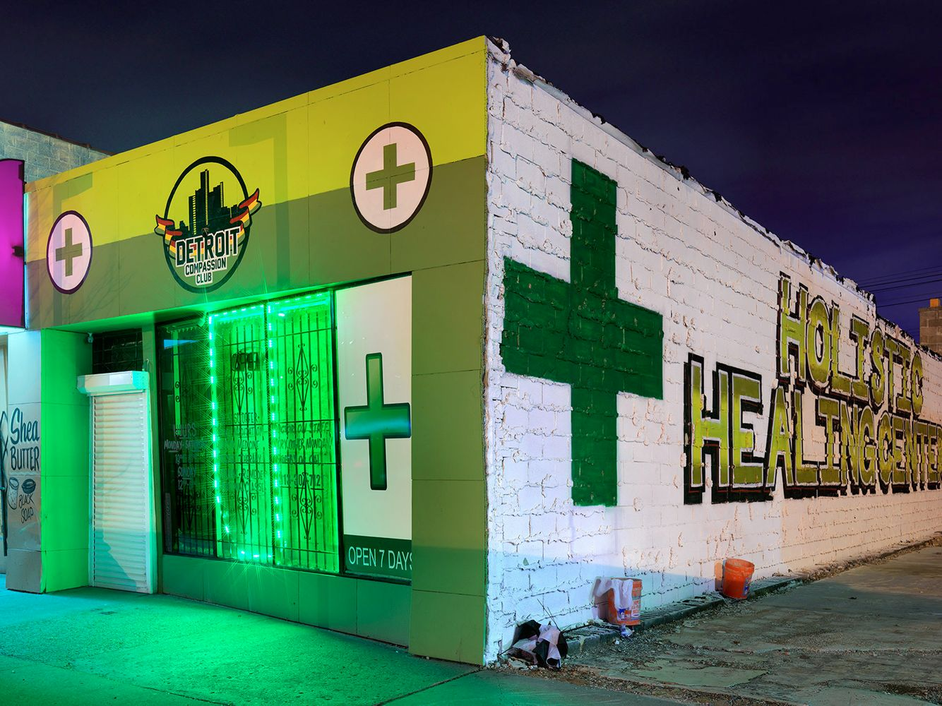 Medical Marijuana Dispensary #35, Westside, Detroit 2016