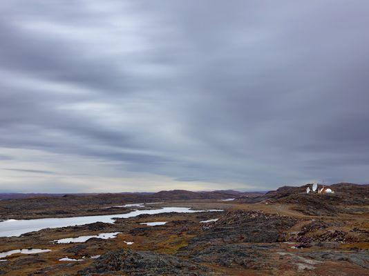 Satellite Dishes, Iqaluit, Canada 2016