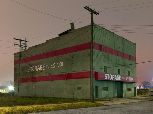 Storage 2, Eastside, Detroit 2017