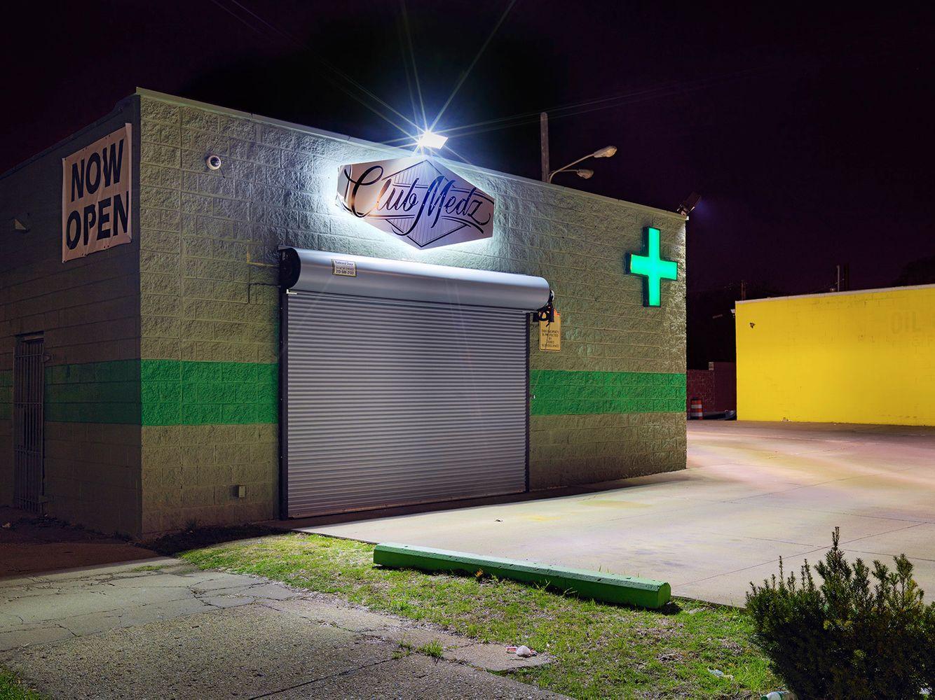 Medical Marijuana Dispensary #61, Westside, Detroit 2016