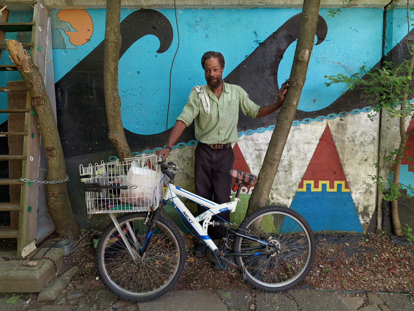 Tom with His New Bike, Southwest Side, Detroit 2015