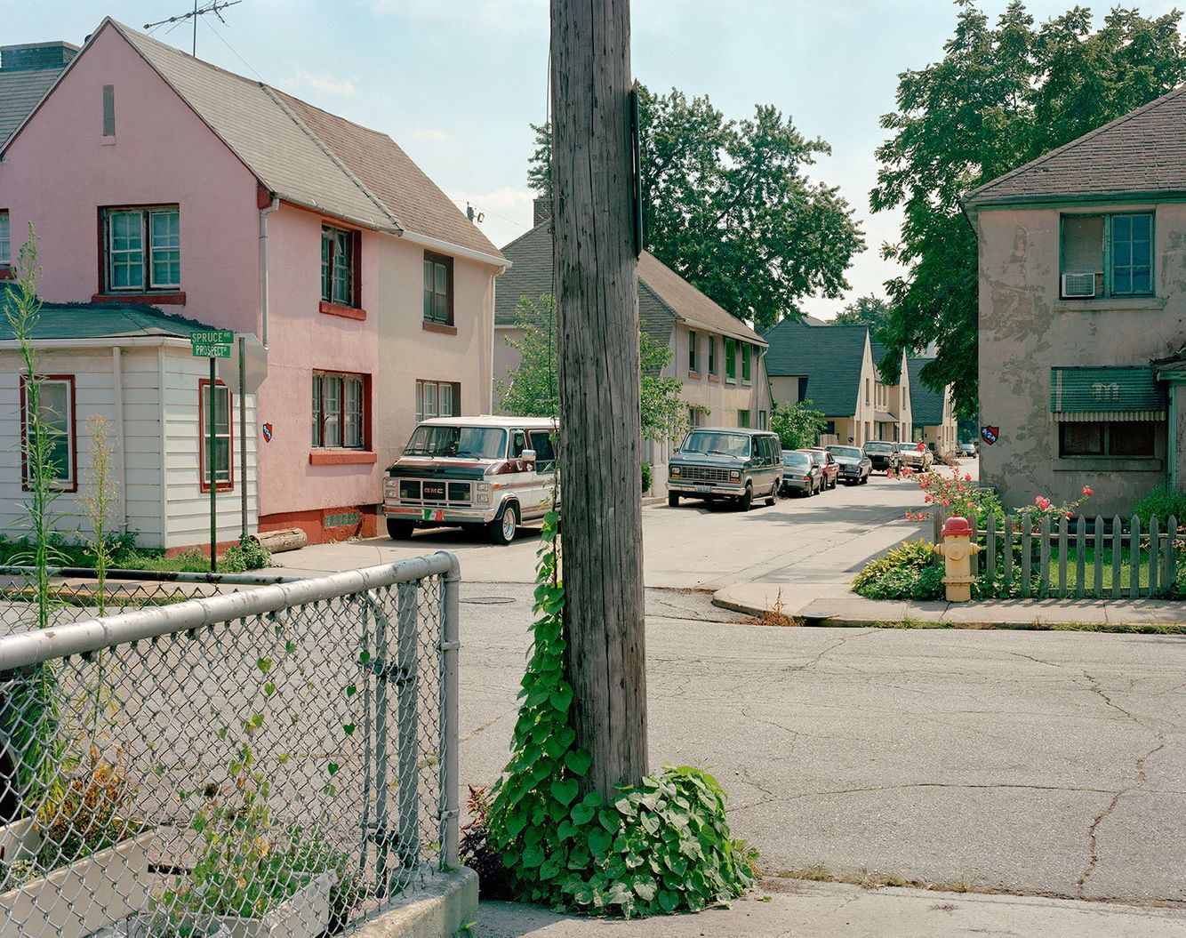 Prospect & Spruce Sts., Marktown, East Chicago IN 2003