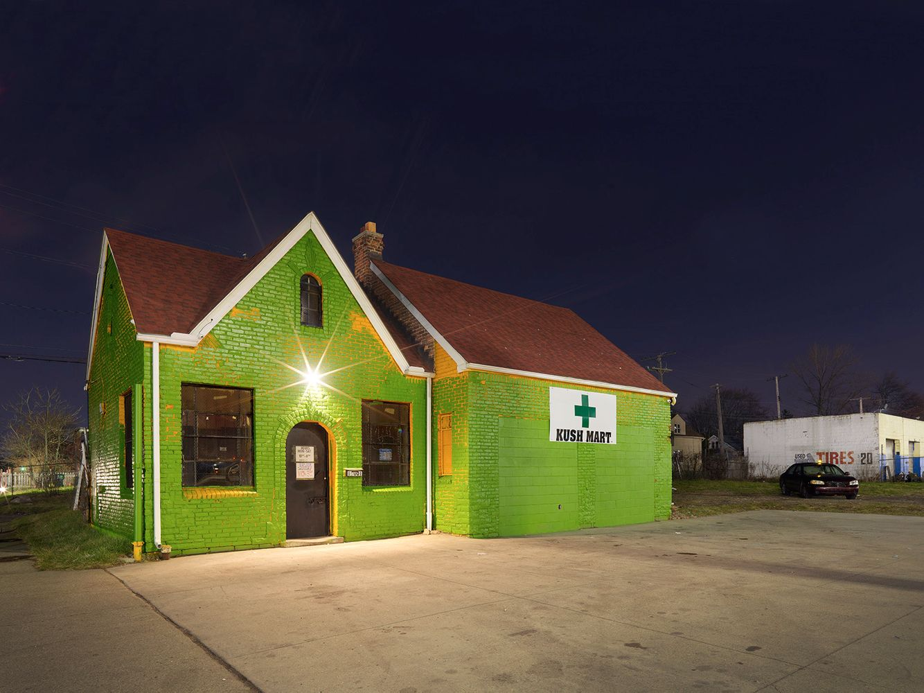 Medical Marijuana Dispensary #1, Westside, Detroit 2016