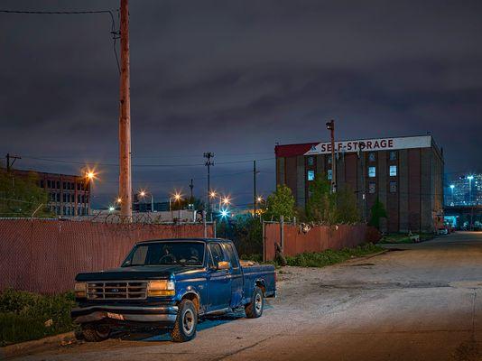Truck, Chicago 2020