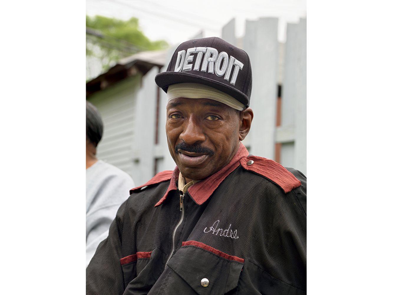 Andre, Master Barber, Roberto's Beauty and Barber Salon, Eastside, Detroit 2015