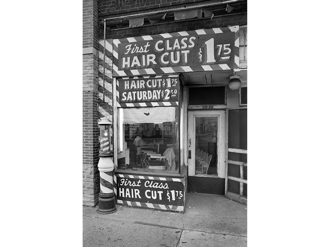 First Class Haircut Barber Shop, 5530 Michigan Ave., Detroit 1972