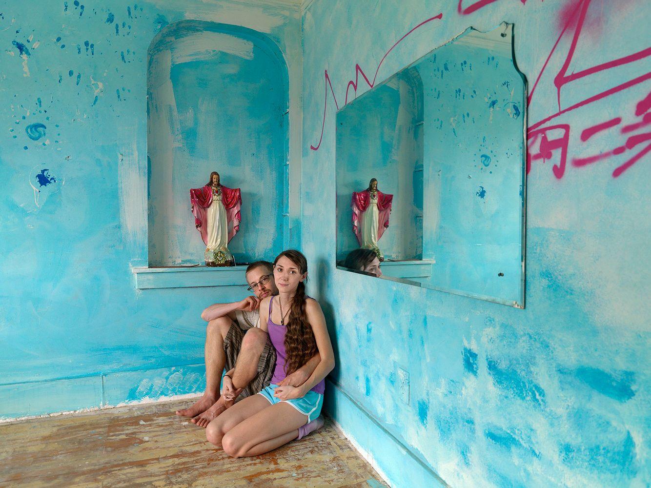 Jeannette and Marshall (coconut), Goldengate Street Residents, Detroit 2012