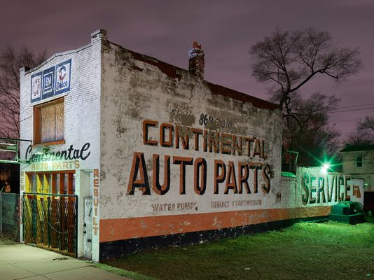 Continental Auto Parts, Westside, Detroit 2017