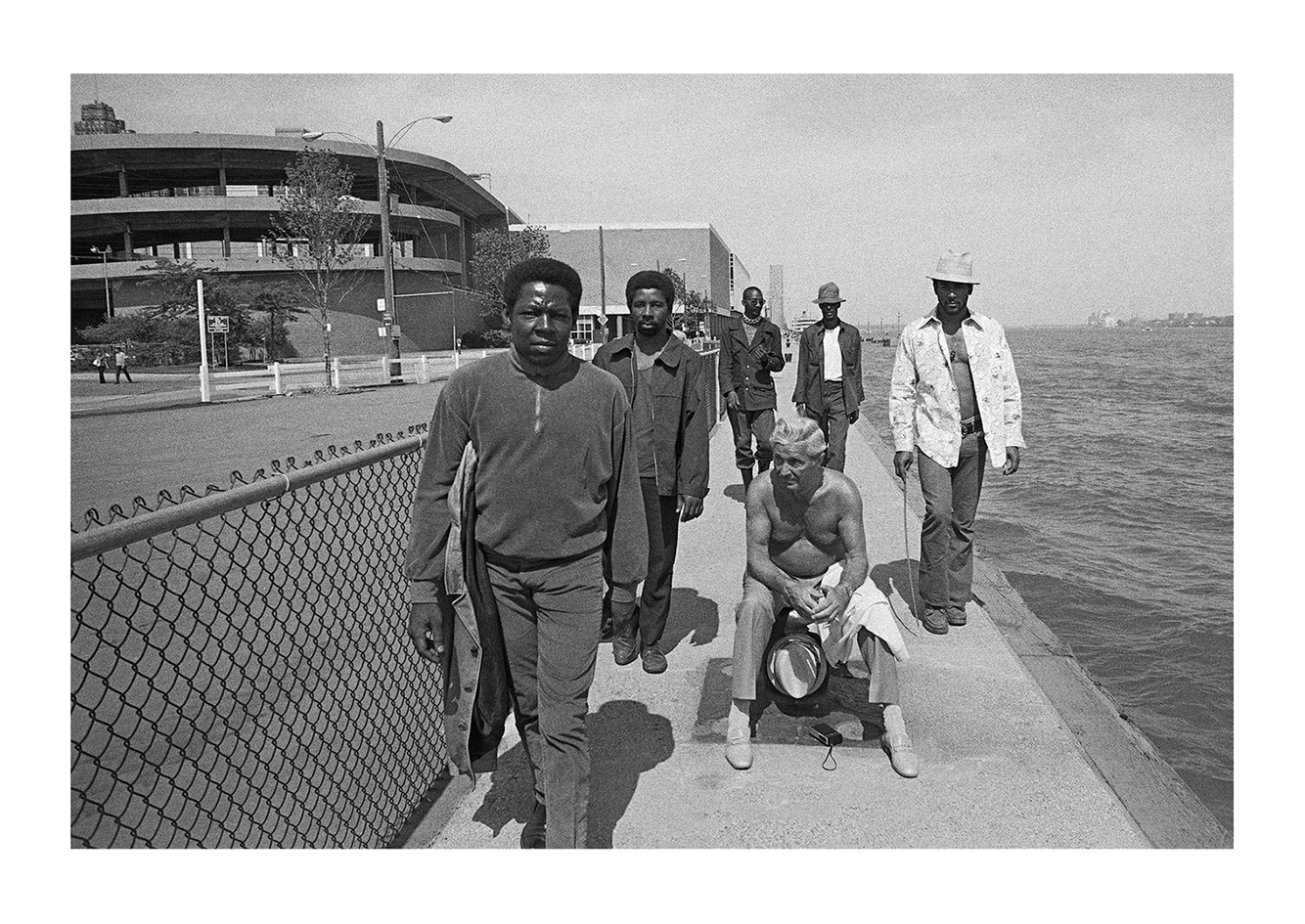 Six Men on the Waterfront, Detroit 1972