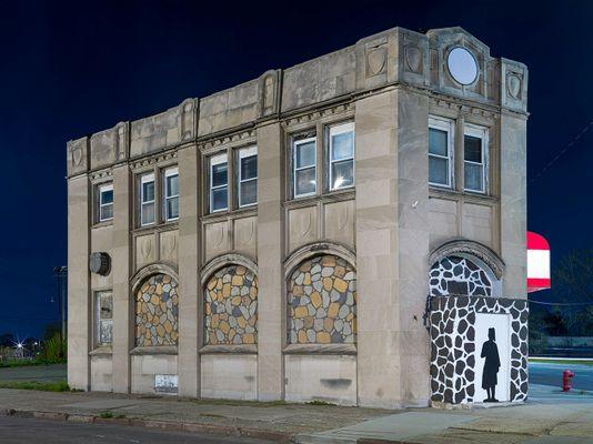 Moorish Science Building, Westside, Detroit 2020