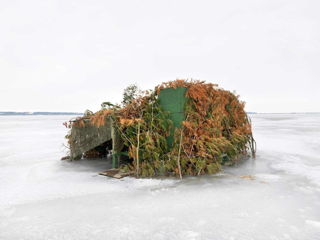 Duck Blind #25, Mississippi River, Northwest Illinois 2008