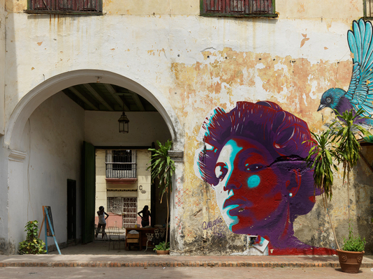 Community Student Art Center, Old Havana, Cuba 2016
