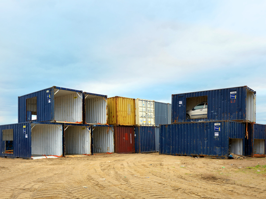 Shipping Containers, Iqaluit, Canada 2016