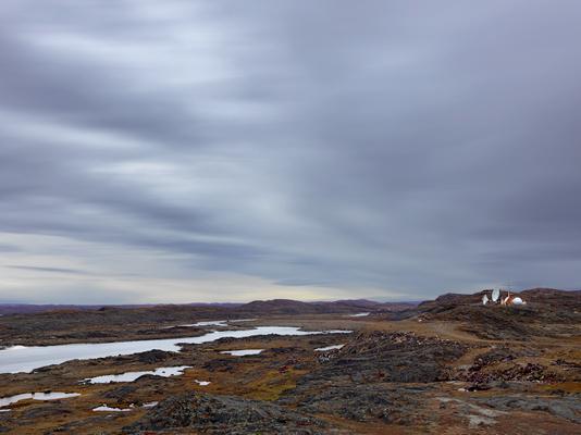 Satellite Dishes, Iqaluit, Canada 2016