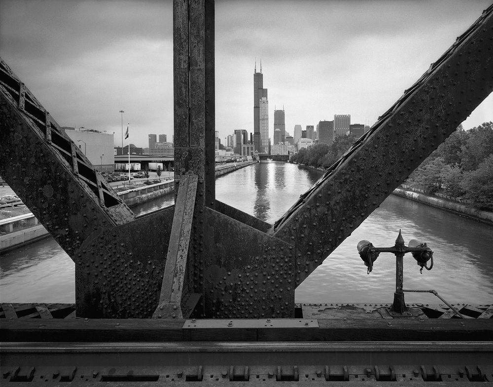 Detail, 18th St. Railroad Bridge, Chicago 2001