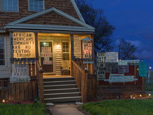 Mike's House, Eastside, Detroit 2020