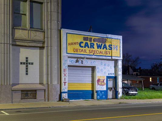 Car Wash, Eastside, Detroit 2020