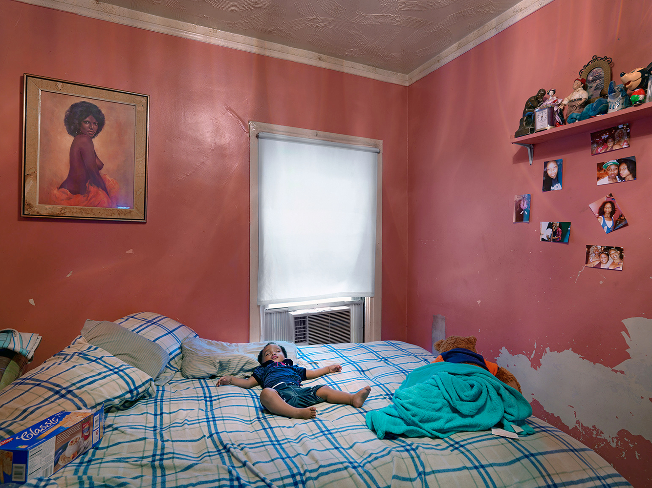 Semira Sleeping in Kat's House, Eastside, Detroit 2012