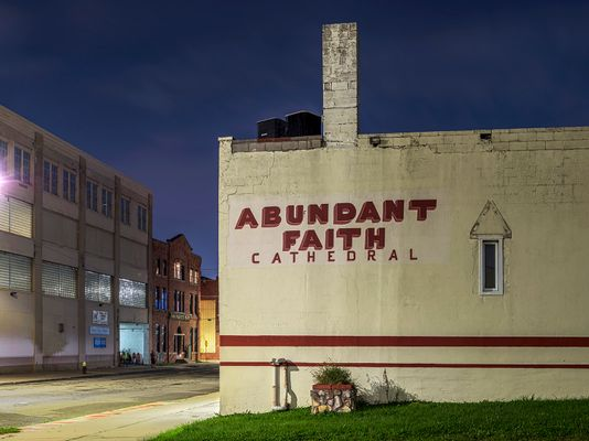 Abundant Faith Cathedral, Eastside, Detroit 2 2019