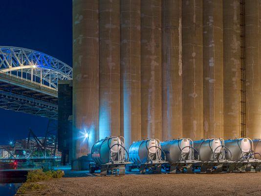 Grain Silo, Cleveland 2019