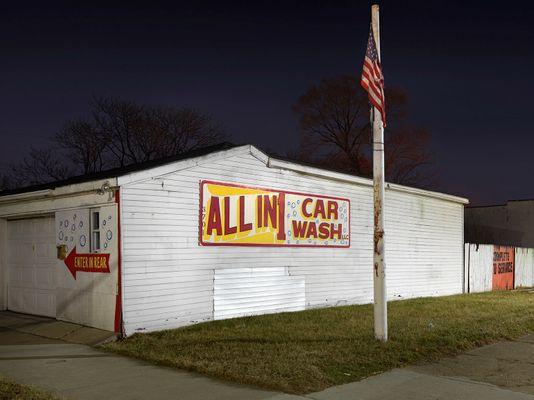 All in 1 Car Wash, E Seven Mile Road, Eastside, Detroit 2016