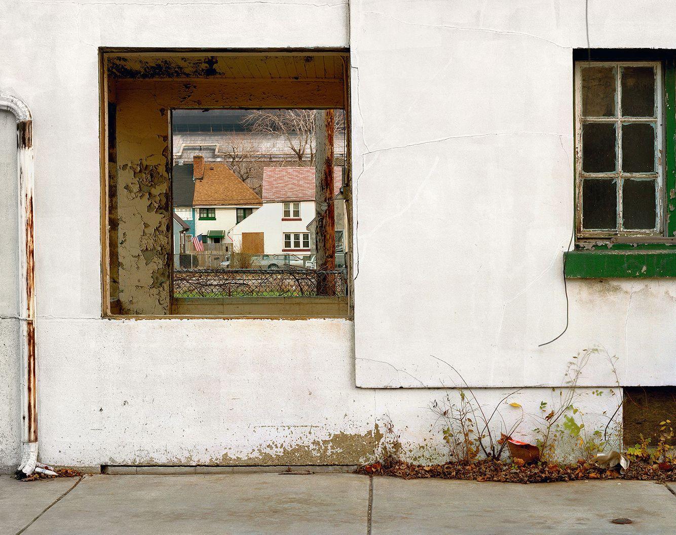 Facade, Marktown, East Chicago, IN 2003