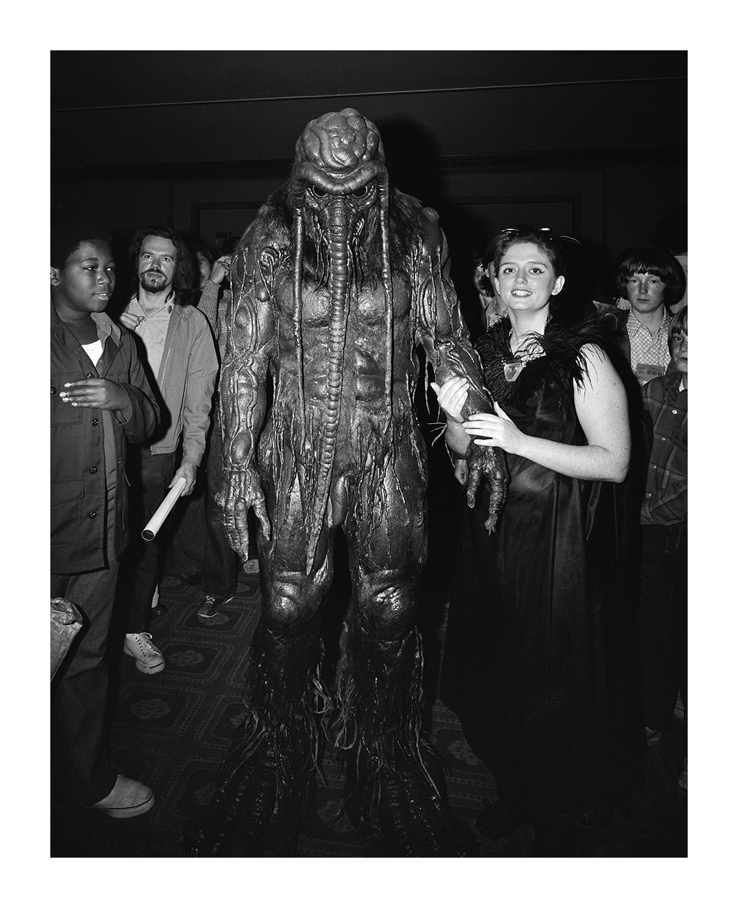 Winner at a Costume Competition, Detroit Hilton, Detroit, 20 Nov. 1973