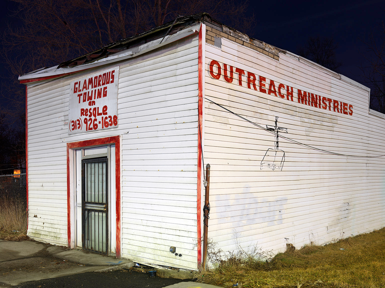 Glamorous Towing an Resale and Outreach Ministries, Brightmoor, Westside, Detroit 2016