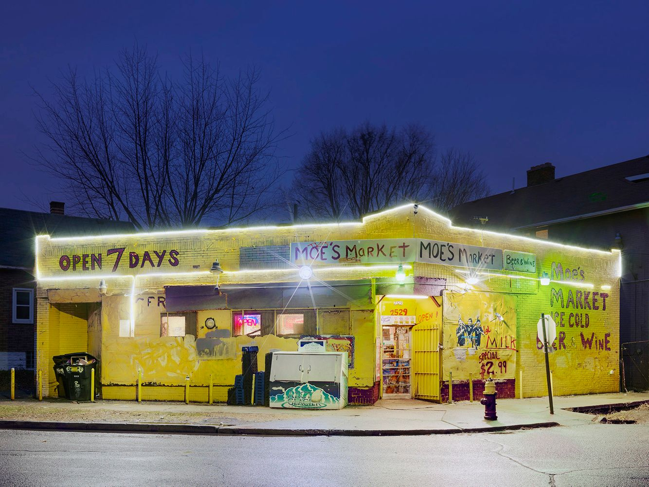 Moe's Market, Mexicantown, Westside, Detroit 2016