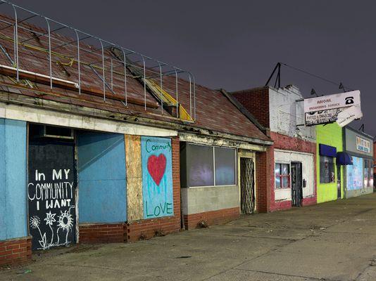 """In My Community"", Westside, Detroit 2017"