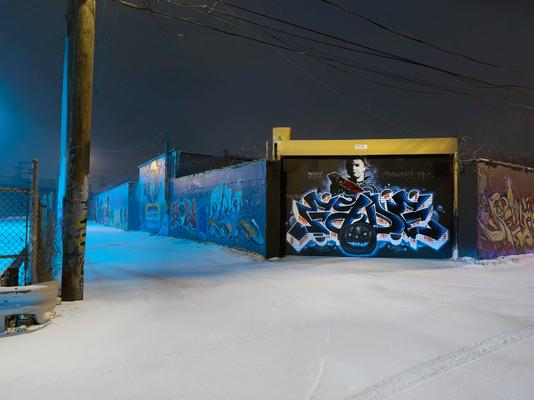 Graffiti Alley, Westside, Chicago 2018