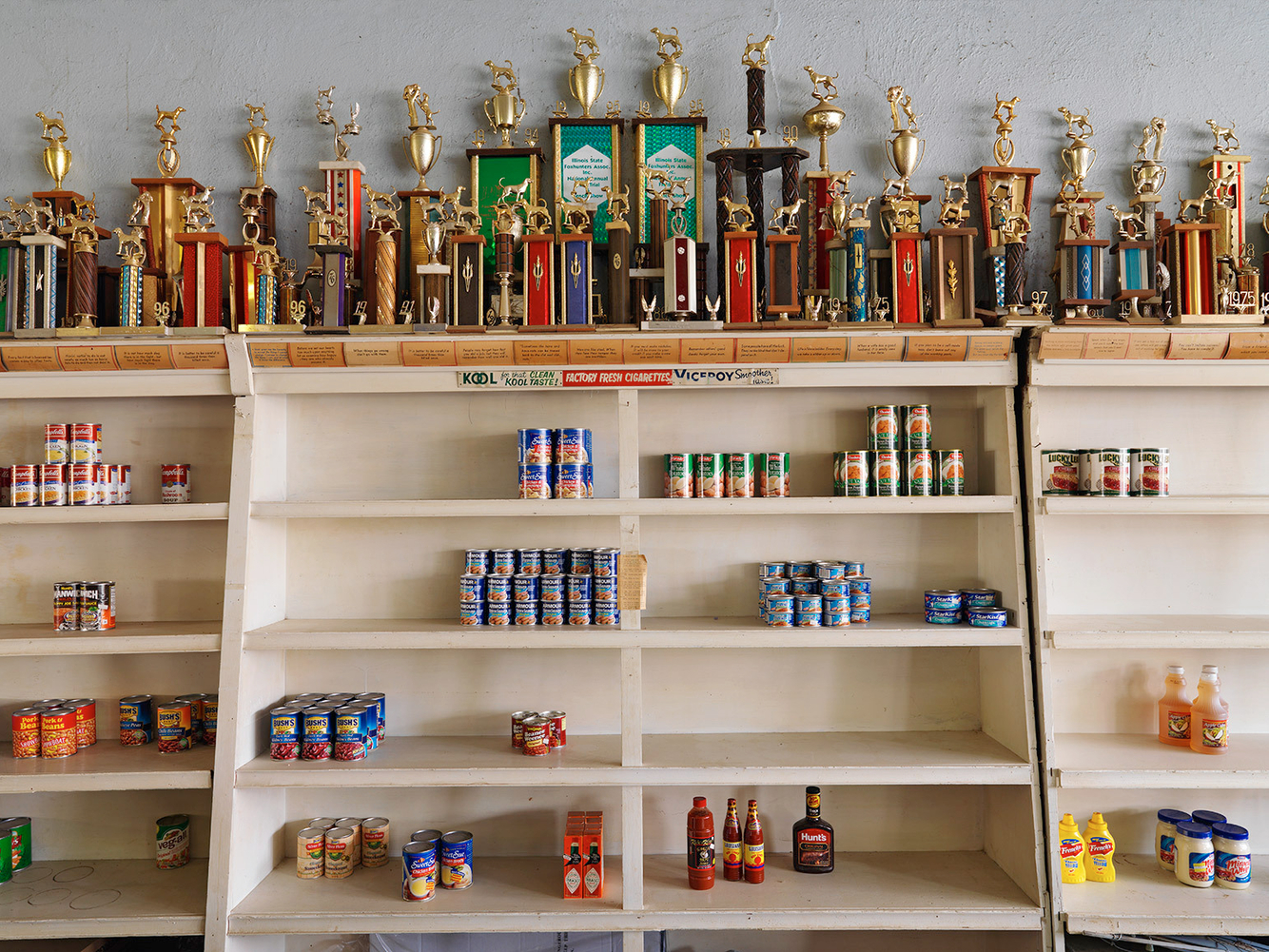 Canned Goods and Trophies, Casper's General Store, Perks, IL 2009