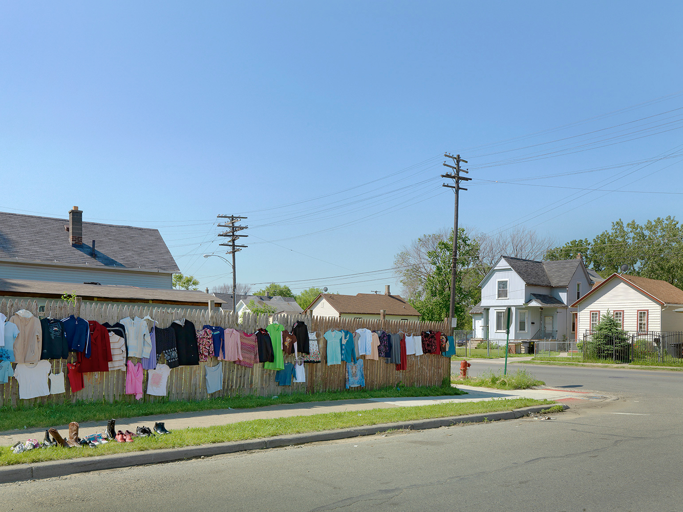 Weekend Yard Sale, Mexicantown, Southwest Side, Detroit 2010