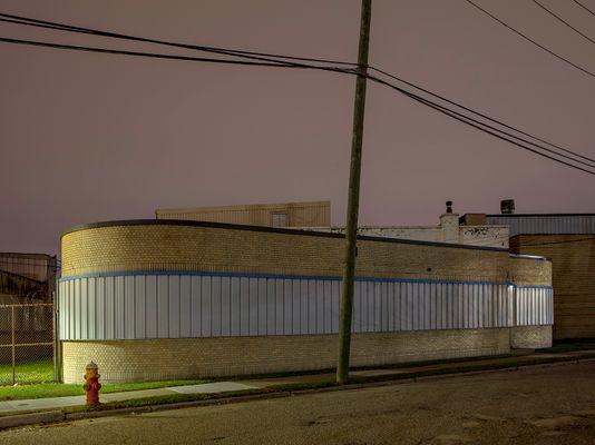 Art Deco Electrical Station, Westside, Detroit 2019