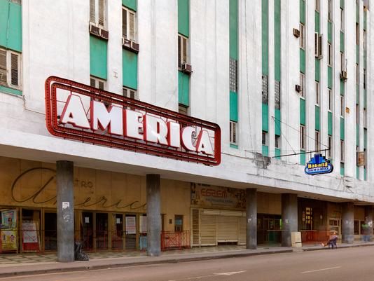 America Building, Centro Havana, Cuba 2016
