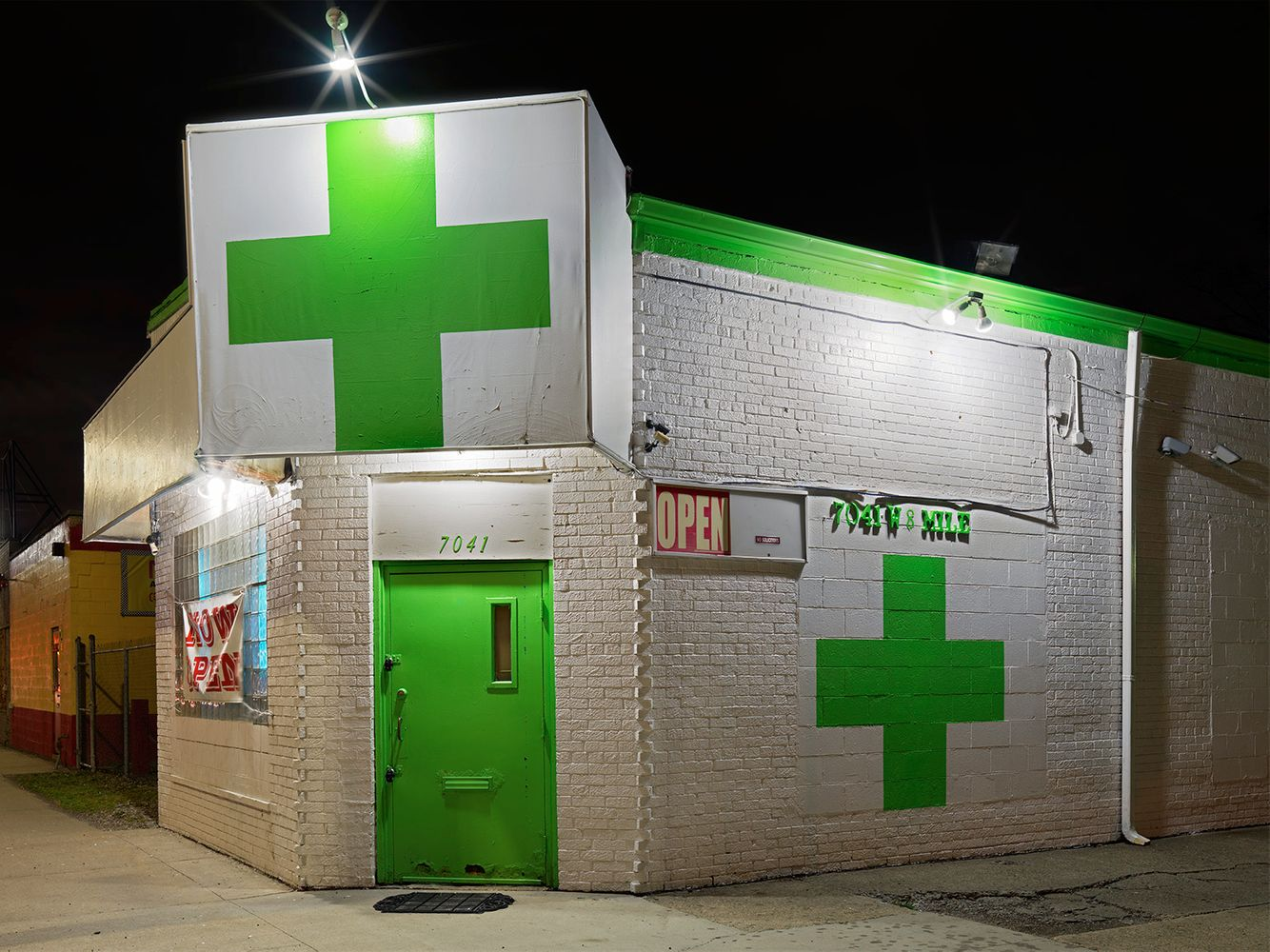 Medical Marijuana Dispensary #6, Westside, Detroit 2016