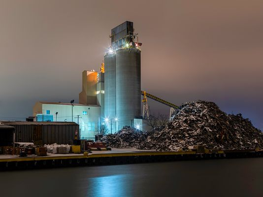 Recycling Plant, Chicago 2020