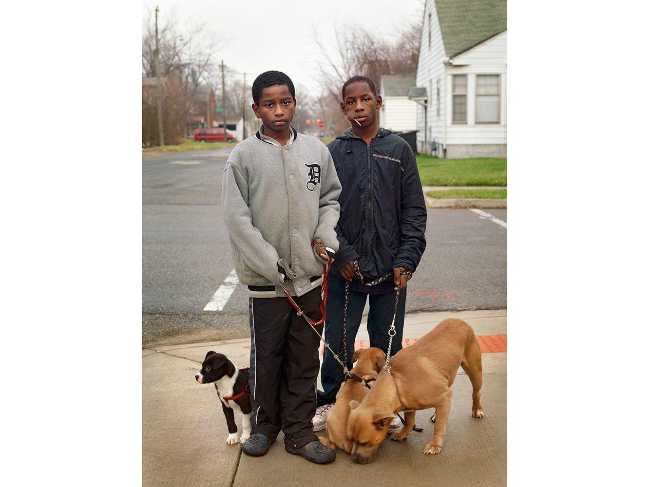 Dayvon and Christian, Eastside, Detroit 2011