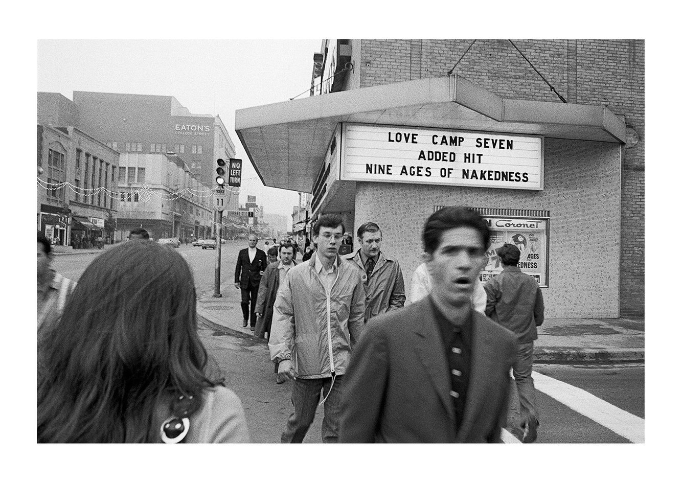 Street Scene, Toronto, Canada 1972