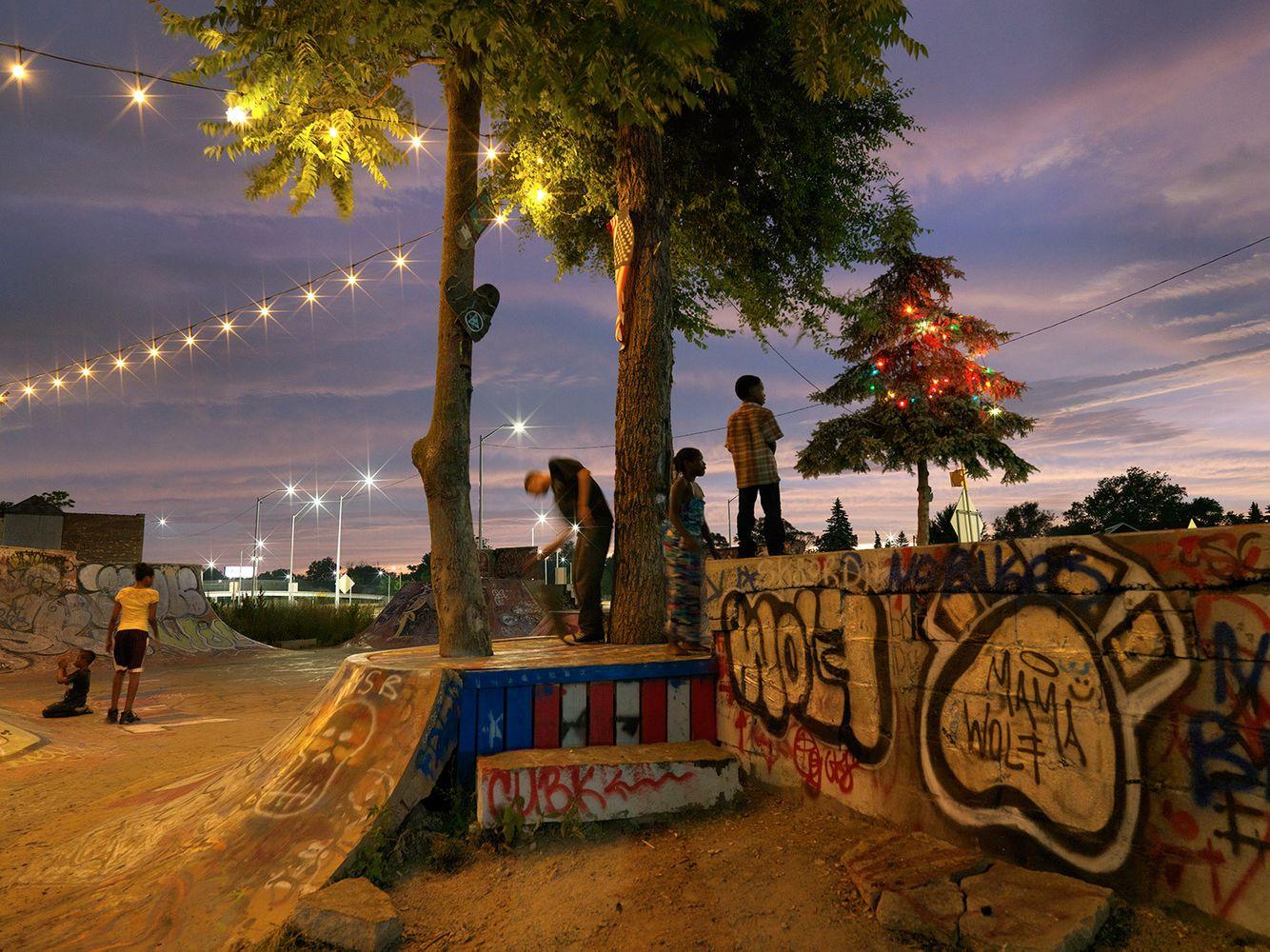 Skateboard Park, Hamtramck/Detroit 2016
