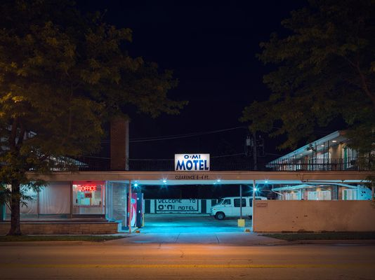 O-MI Motel, Northside, Chicago 2018