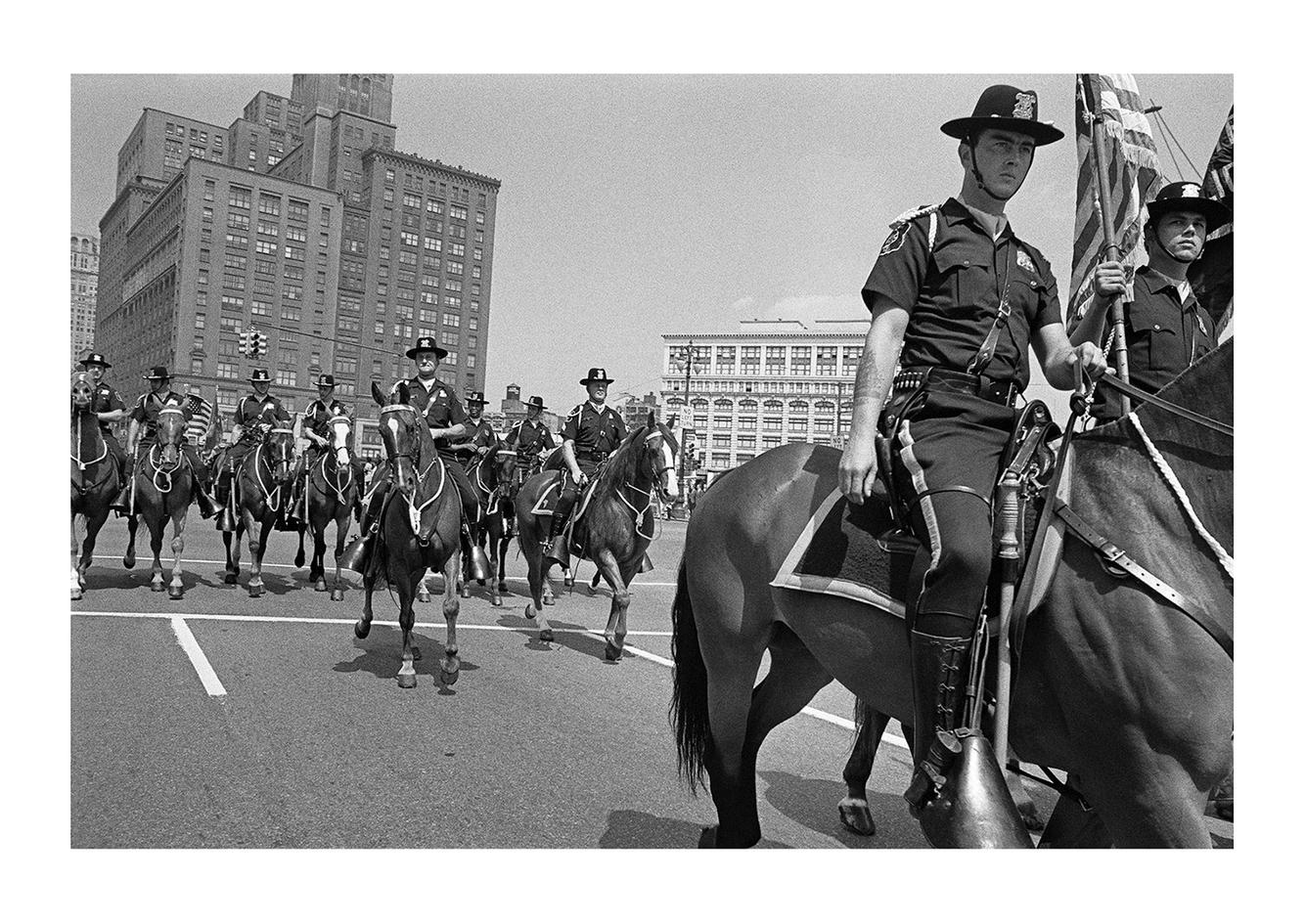 Parade Down Woodward Avenue, Detroit 1972