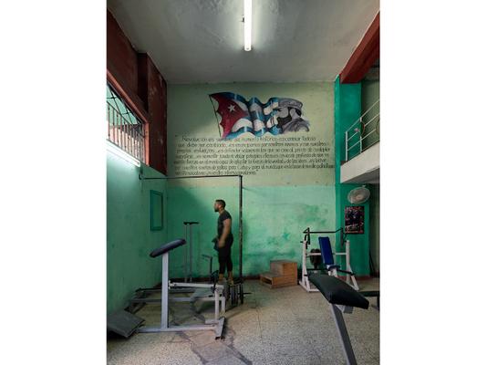 Workout Gym, Centro Havana, Cuba 2016
