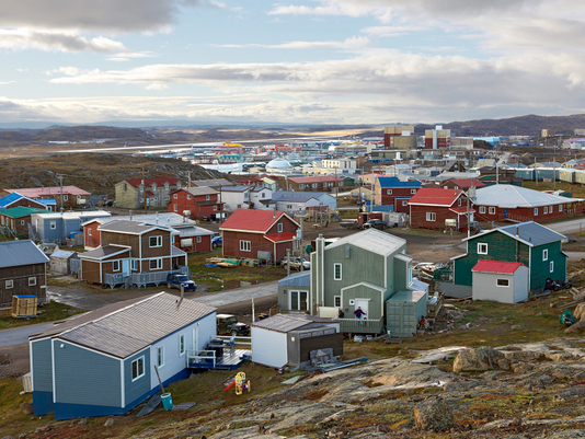 View from Happy Valley, Iqaluit, Canada 2016